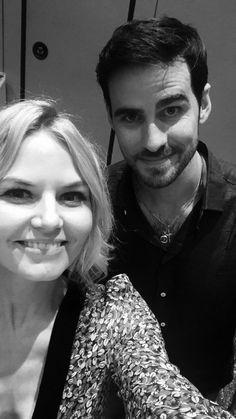 @jenmorrisonlive....Jen posted a selfie on her Instagram of her and Colin at San Francisco Comic Con 2017...