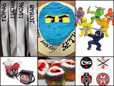 From candy sushi to karate games, these 12 DIY birthday party ideas will be sure to please any ninja or LEGO Ninjago fan!