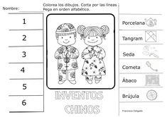 ¿Qué puedo hacer hoy?: China (III) Tangram, Homeschool, Around The Worlds, Montessori, Flags, Spanish, February, Kids, World Cultures