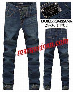 Vendre Jeans Dolce & Gabbana Homme H0099 Pas Cher En Ligne.