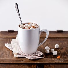 какао с маршмеллоу by Natalia Lisovskaya, via 500px