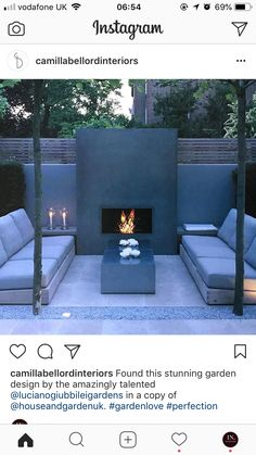 Most current Cost-Free Fireplace Outdoor roof Tips Planning for an Outdoor Fireplace? Outdoor fireplaces and fire pits develop a warm and inviting area Outdoor Rooms, Outdoor Living, Outdoor Decor, Backyard Patio, Backyard Landscaping, Back Gardens, Outdoor Gardens, Pergola Shade, Garden Inspiration