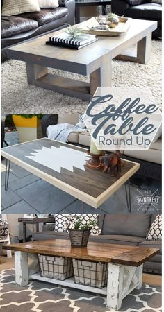 7 Easy DIY Coffee Table - Woodworking Plans