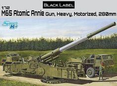 Dragon 7484 M65 Atomic Annie Gun, Heavy Motorized 280mm
