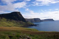 On the way to Neist Point Lighthouse