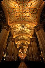 The Basilica Cathedral of Lima,Peru by Kelly Cheng