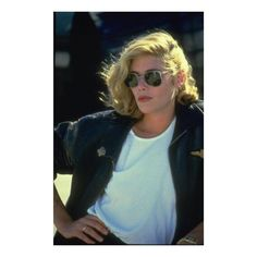 All about that Kelly McGillis Top Gun look.