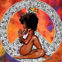 Peace, Yoga, Queenhood