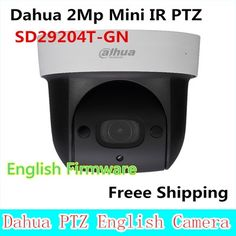 156.00$  Watch here - http://aliy6m.worldwells.pw/go.php?t=32653882496 - Dahua SD29204T-GN replace SD29204S-GN 2Mp Network Mini IR PTZ Dome IP Speed Dome 4x optical zoom English Firmware Freee Shipping