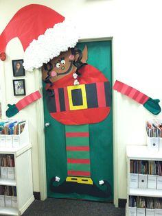 Christmas classroom door School Door Decorations, Diy Classroom Decorations, Office Christmas Decorations, Classroom Displays, Classroom Ideas, Classroom Signs, Christmas Classroom Door, Christmas Math, Christmas Crafts