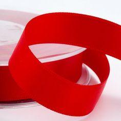 Red Satin Wedding Ribbon -all sizes