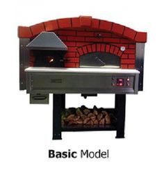 Four à pizza à bois combustion du gaz MIX120V, Série MIX-V