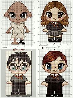 Cross Stitch Books, Cross Stitch Art, Cross Stitch Designs, Cross Stitching, Cross Stitch Patterns, Harry Potter Perler Beads, Harry Potter Crochet, Harry Potter Quilt, Beaded Cross Stitch