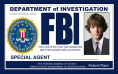 Dean Winchester Fake FBI Badge From Supernatural. Lalala ...