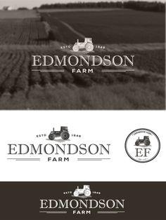 Create the next logo for Edmondson Farm Logo design #76 by Thebluestrawberry