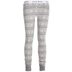 Woodlark Leggings ($45) ❤ liked on Polyvore featuring pants, leggings, pajamas, bottoms, women, cotton pants, elastic waistband pants, stretch waist pants, jack wills leggings and cotton trousers