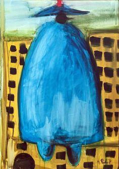 "Saatchi Art Artist Mattia Paoli; Painting, ""Policeman"" #art"