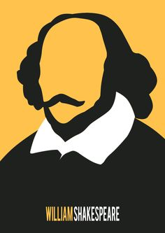 William Shakespeare minimalist poster collection n.2