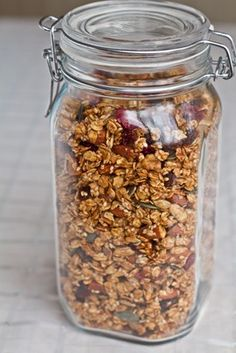 the best granola ever... seriously. I love this stuff!!! Oh She Glows