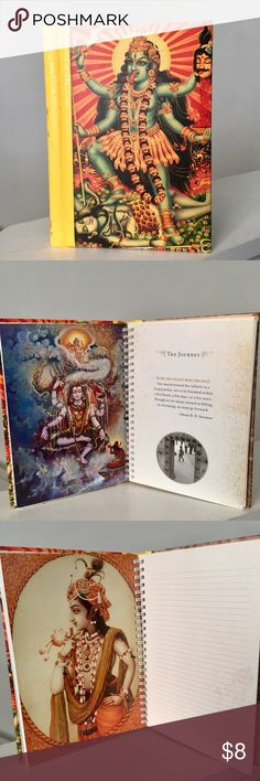 Kali Meditation Journal Rich colors, art and poems. Thick soft cover and spiral binding. Free with bundle of 3 or more. Mandala Other
