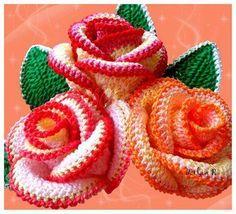 Resultado de imagen para handmade paradise  flowers crochet