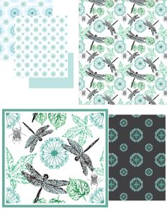 dragonfly pattern for wide option of home decor ideas, you could use for bedding, decorations or even for wallpaper