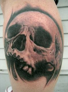 tree skull tattoos | Now viewing image 22 of 31 previous next