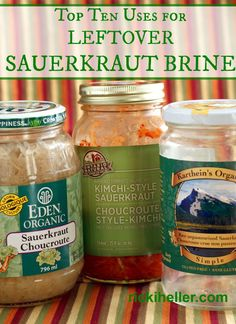 If you follow a whole-foods or traditional diet, you've probably eaten your fair share of lacto-fermented sauerkraut (in fact, it's probably fair to guess that you've even made some from scratch, right?). Lacto-fermented sauerkraut--and other naturally fermented foods, like ...