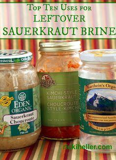 Top 10 uses for leftover sauerkraut juice | rickiheller.com