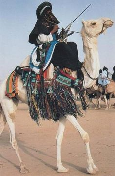 Tuareg in Niger - The Tuareg are a Berber people with a traditionally nomadic pastoralist lifestyle. They are the principal inhabitants of North Africa; with most Tuareg living in the Saharan parts of Niger, Mali, and Algeria. However, being nomadic, they move constantly across national borders.