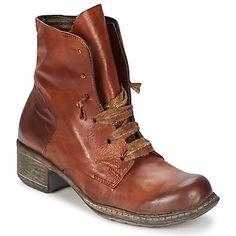 Vous ne résisterez pas à la tentation de cette jolie bottine marron à l'allure racée ! Tige en cuir et semelle extérieure en synthétique : rien n'a été laissé au hasard pour nous plaire. On parie que vous craquez pour la Isa signée Papucei ? - Couleur : Havane - Chaussures Femme 104,30 €