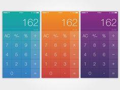 43 Calculator App UI Design for Inspiration - Smashfreakz
