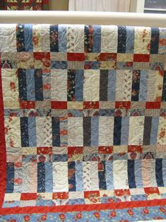 Basket Case prairie paisley This could be a quilt of valor!
