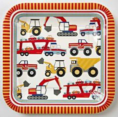 """Big Rig 9"""" Plates 