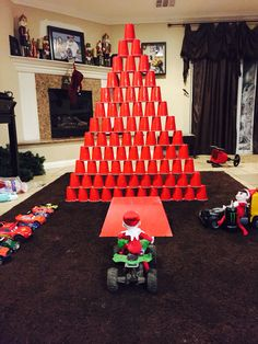 Elf on the shelf idea for boys