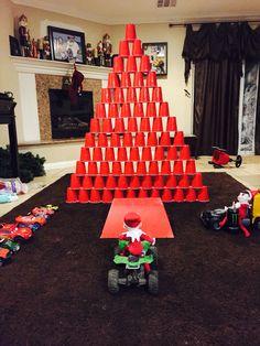 Elf on the shelf idea for boys