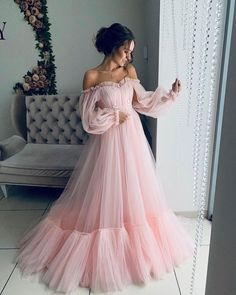 Makeup Looks Discover Off the shoulder dress for wedding guest fluffy tulle dress for women with corset floor length maxi dress formal off shoulder gown any color Girls Pageant Dresses, Baby Girl Dresses, Women's Dresses, Fashion Dresses, Princess Dresses, Summer Dresses, Casual Dresses, Dresses Online, Evening Maxi Dresses