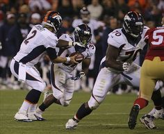 Denver Broncos Zac Dysert, C.J. Anderson