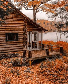Cabana, Autumn Aesthetic, Autumn Cozy, Happy Fall Y'all, Cabins In The Woods, Fall Season, Fall Halloween, My Dream Home, Beautiful Places