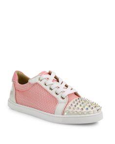 Christian Louboutin | Multicolor Gondolita Spiked Sneakers | Lyst