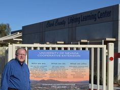 Eric Kilian has been Southern Area director of the University of Nevada Cooperative Extension for less than a month and is eager to show off the program. Youth Programs, Nevada, Extensions, Las Vegas, My Photos, Southern, University, Community, Journal