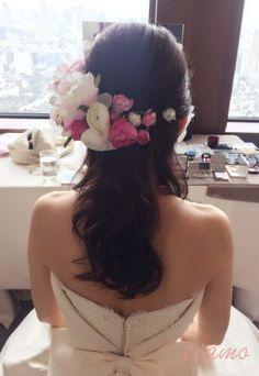 満開桜♡神前式から始まる素敵なウエディングDAY! の画像|大人可愛いブライダルヘアメイク 『tiamo』 の結婚カタログ