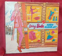 1970 Mod Dramatic Living Barbie - Doll and Action Accents Gift Set 1585 (Dancing, Diving, Skiing and Skating) - Sears Exclusive - Clear Posin X Stand - Japan Body - NRFP - Mattel | eBay