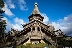 Wooden Russian Church - Karelia