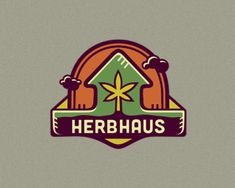 Herbhaus by szende   -   Illustrative Logo   -   logopond.com