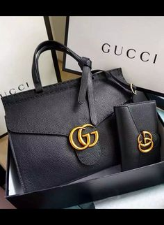 Gucci Small GG Marmont Leather Top Handle is a structured bag but the signature leather is soft and featherweight. Check it at http://www.luxtime.su/gucci-small-gg-marmont-leather-top-handle-gu421890-black Shared by Where YoUth Rise