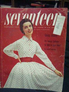February 1955 cover with the late Rita Egan
