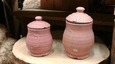 voorraadpotten roze