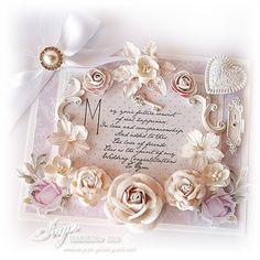 Inger Harding: Shabby Chic Wedding Card