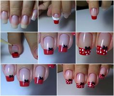 23 ideas for fails art disney mickey Nail Art Designs Videos, Nail Designs, Nagel Bling, White Nail Art, Disney Nails, Nagel Gel, Stylish Nails, Cookies Et Biscuits, Simple Nails